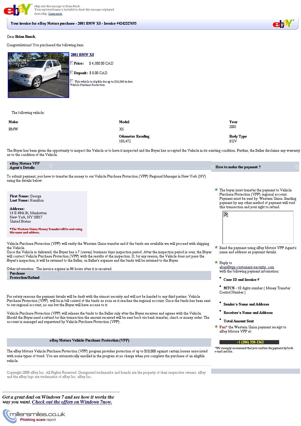 ebay motors payment invoice   invoice template ideas