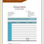 Cash Invoice Sample
