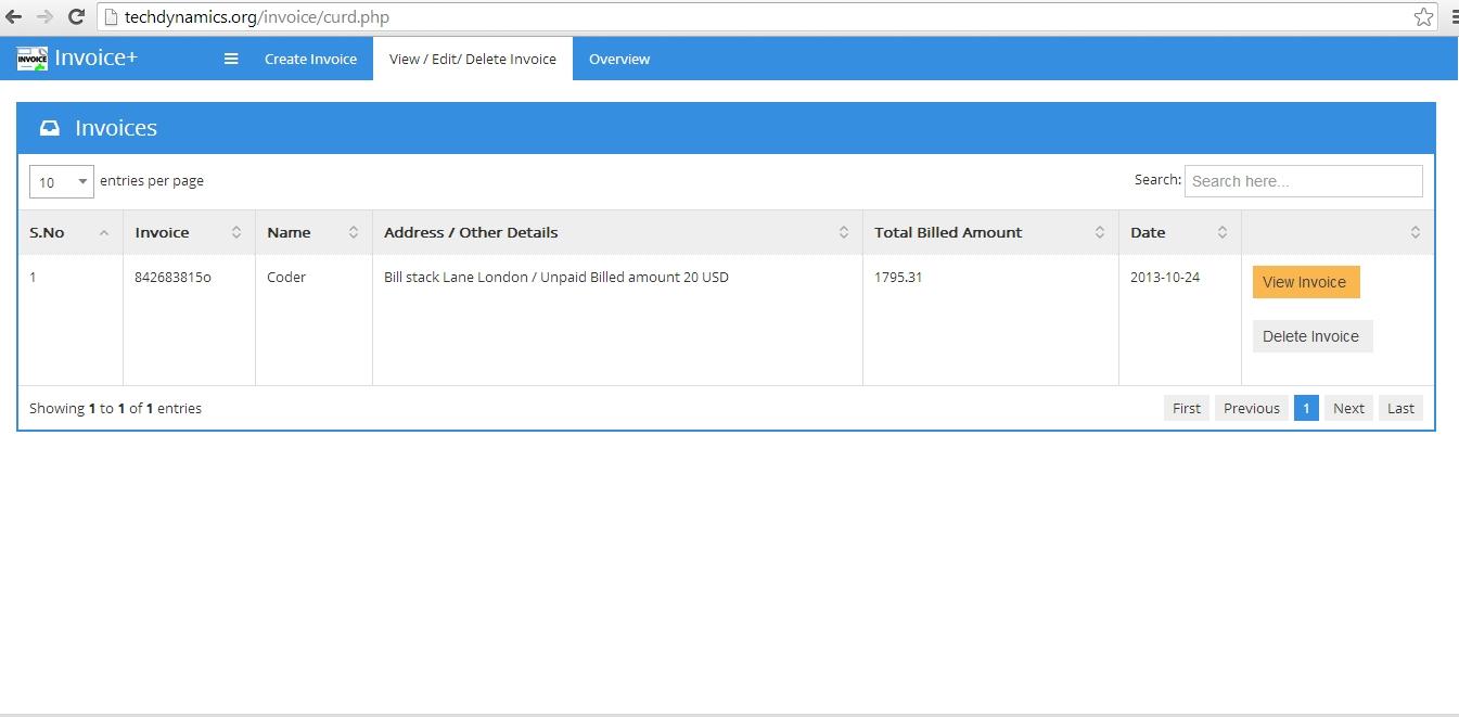 ajax and jquery pos invoice management system php scripts invoice management system