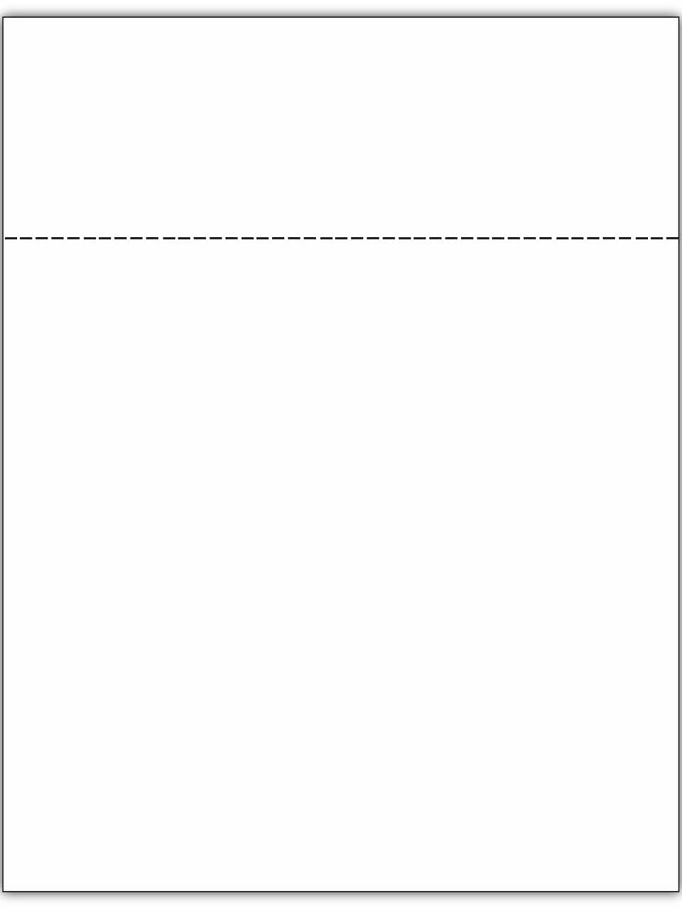 blank statement invoice paper billing invoices and statements perforated invoice paper