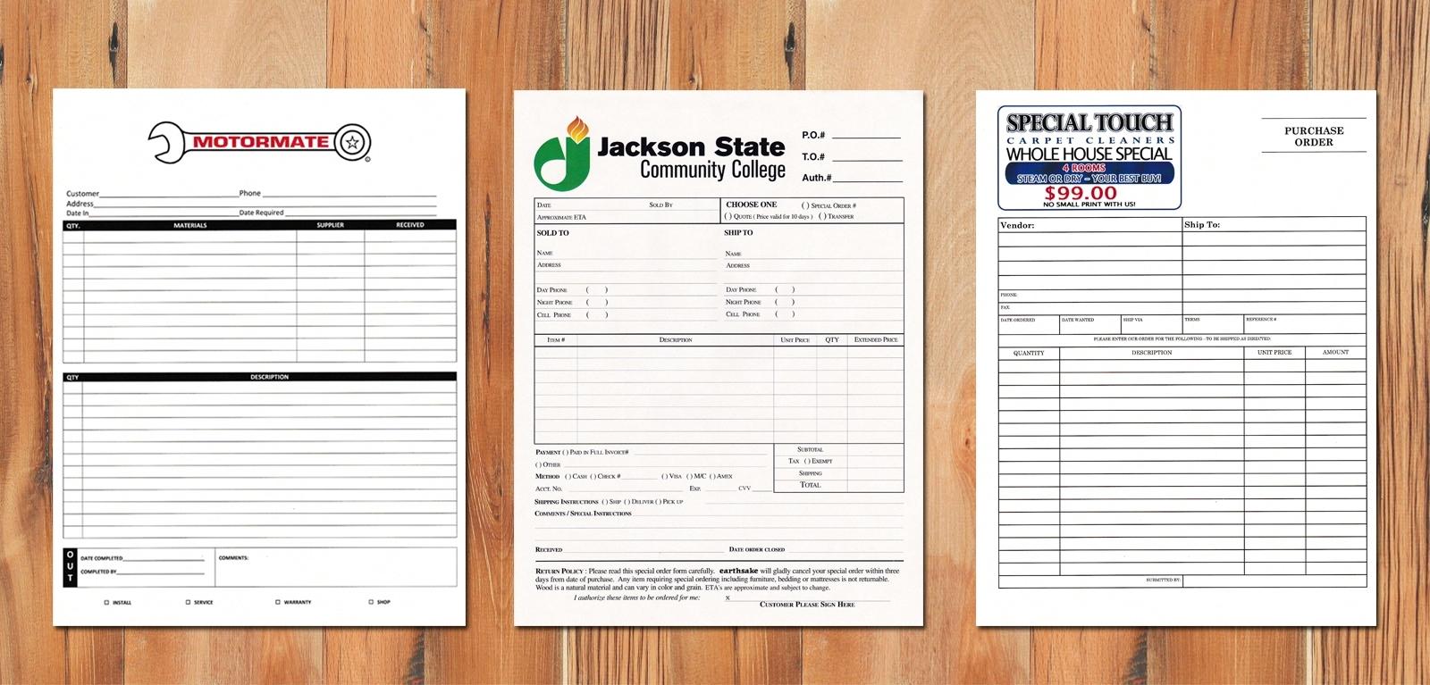 custom invoices online
