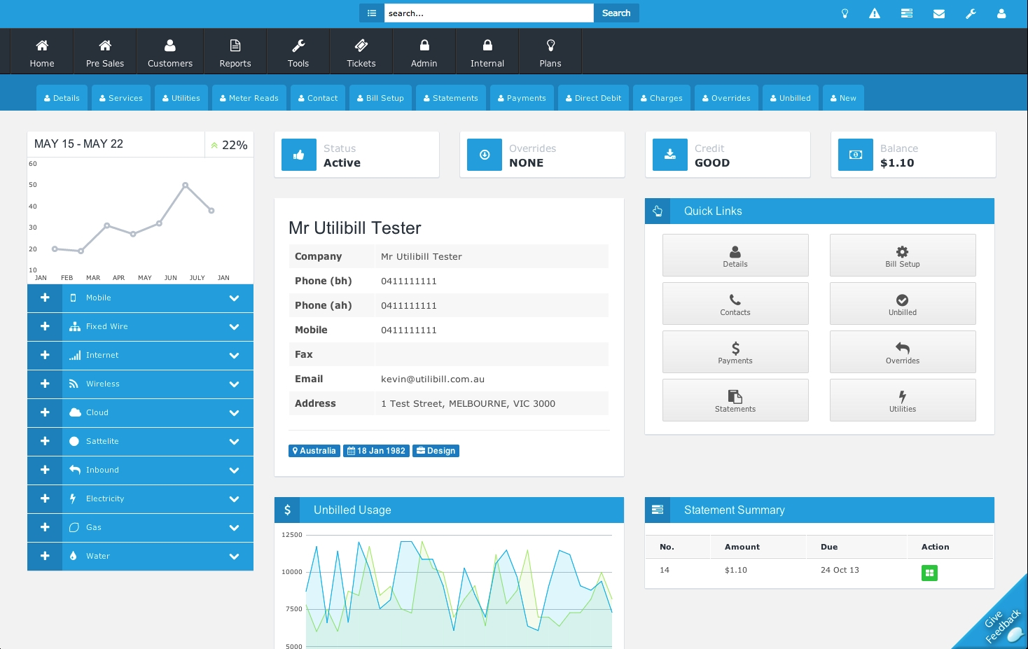electricity billing system billing invoice software