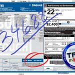 Ford F 150 Invoice