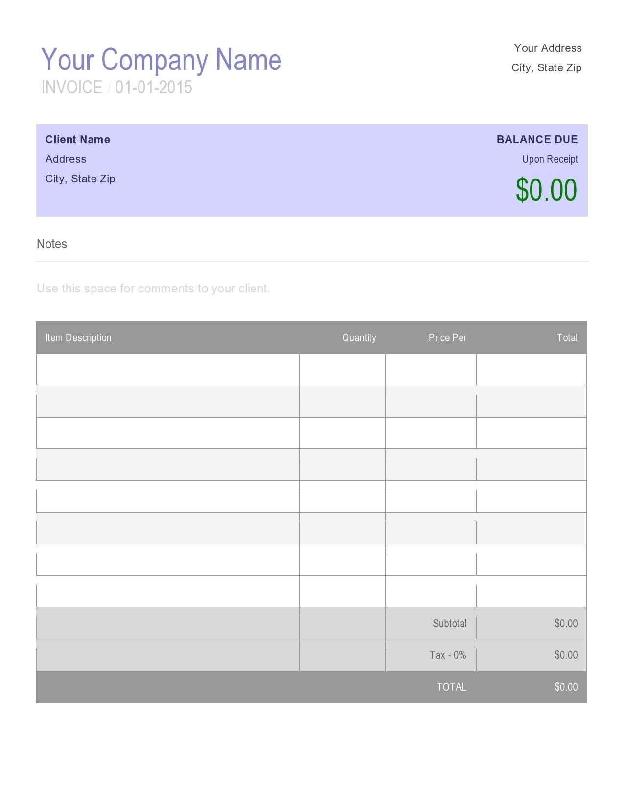 free online invoice creator template christmas invoice creator free