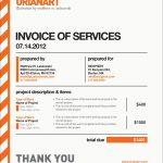 Freelance Designer Invoice Template