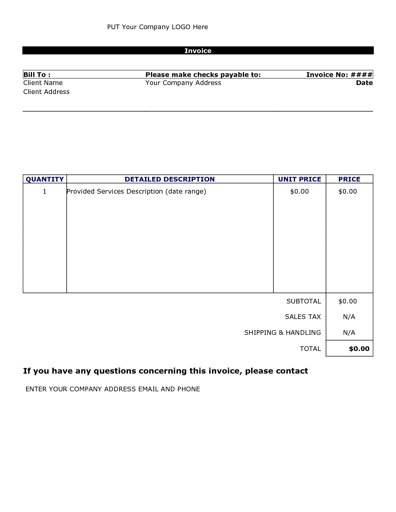 invoice template download word invoice template free 2016 invoice word template free