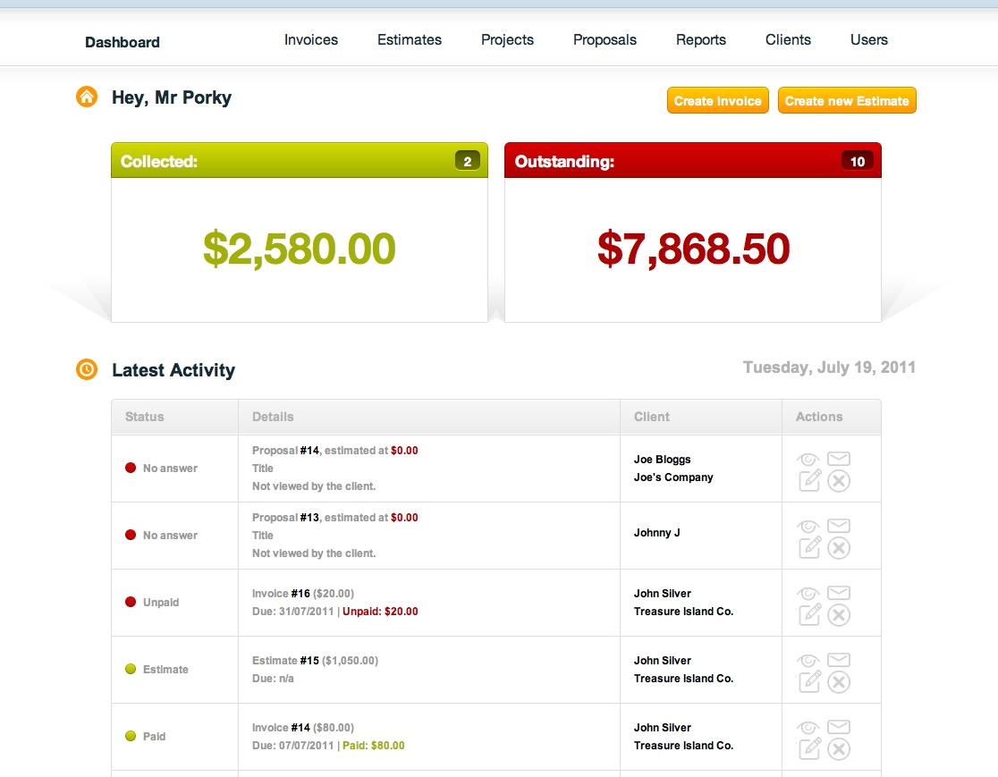 online invoicing pancake app on line invoices