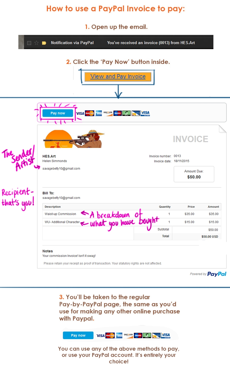 paypal invoice tumblr invoice through paypal