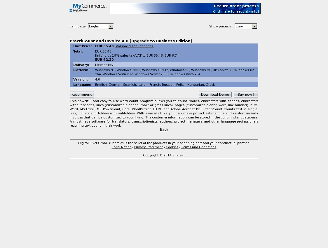practicount and invoice 40 upgrade to business edition practicount and invoice