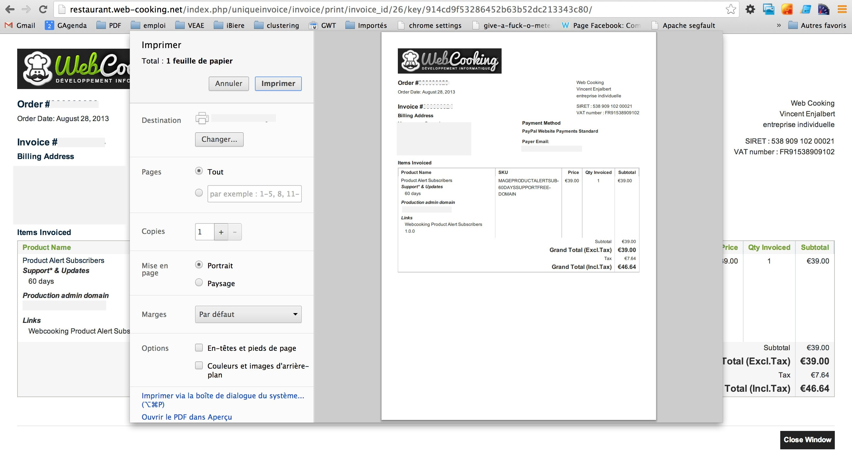 print an invoice use frontend invoice instead of backend pdf invoice module magento 2874 X 1550