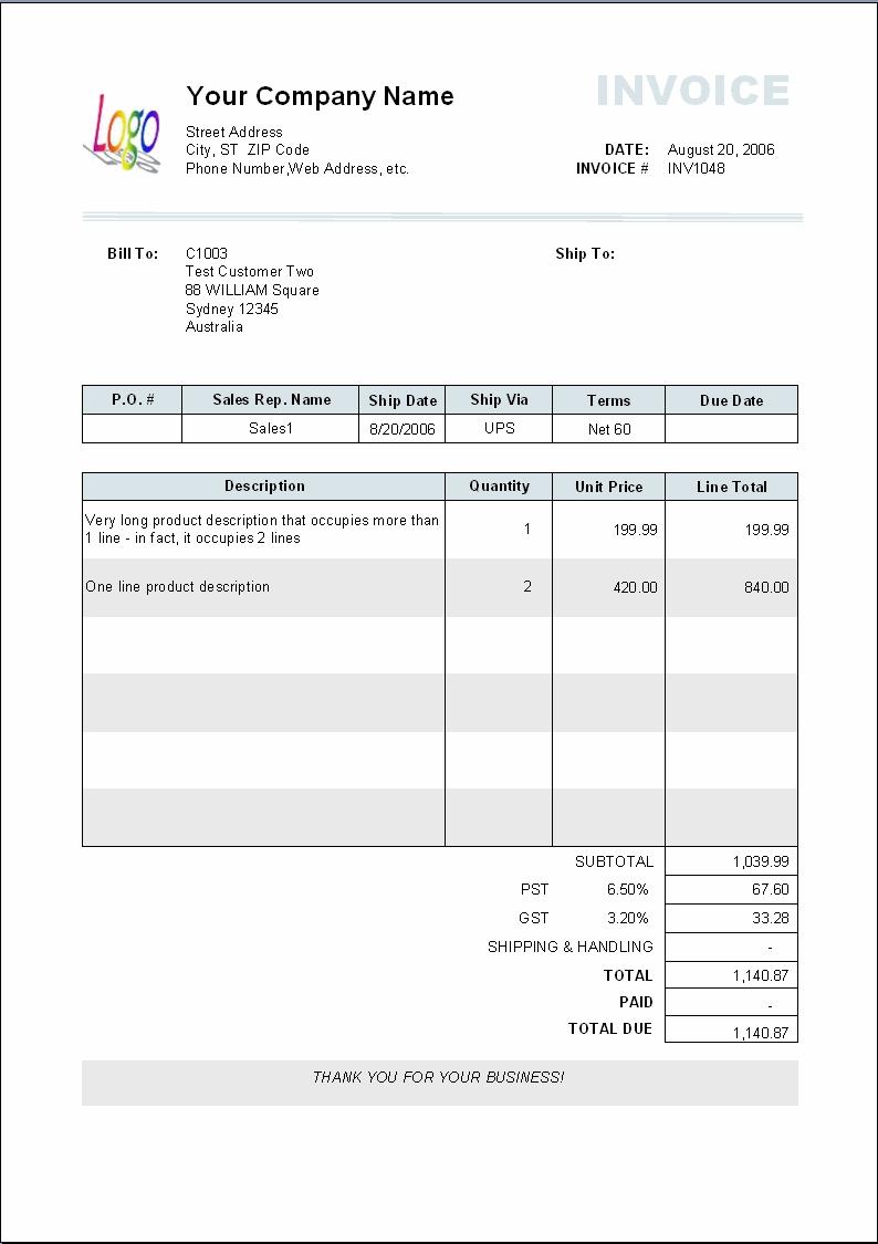 template vat invoice httpwebdesign14 vat invoice example