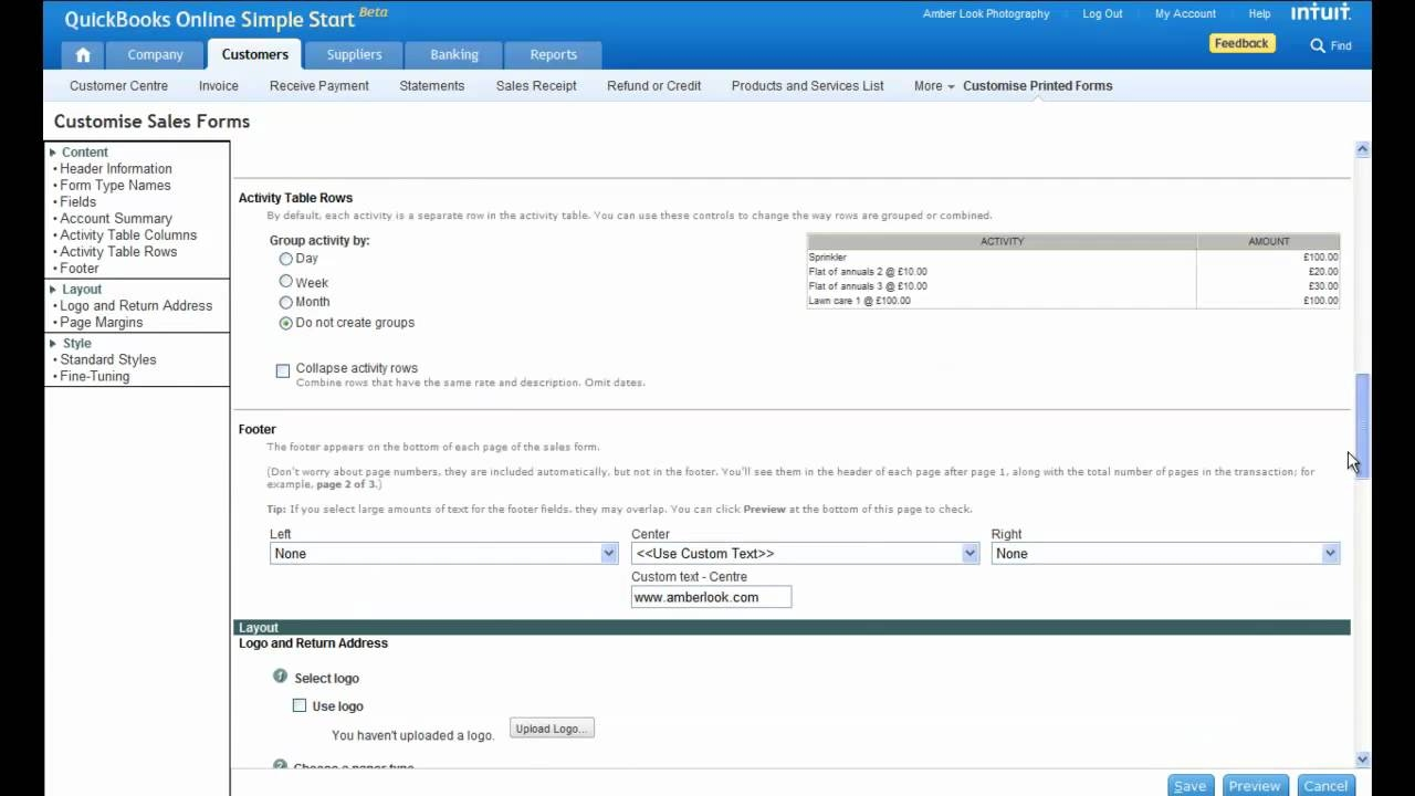 tip create professional invoices with intuit quickbooks online on line invoices