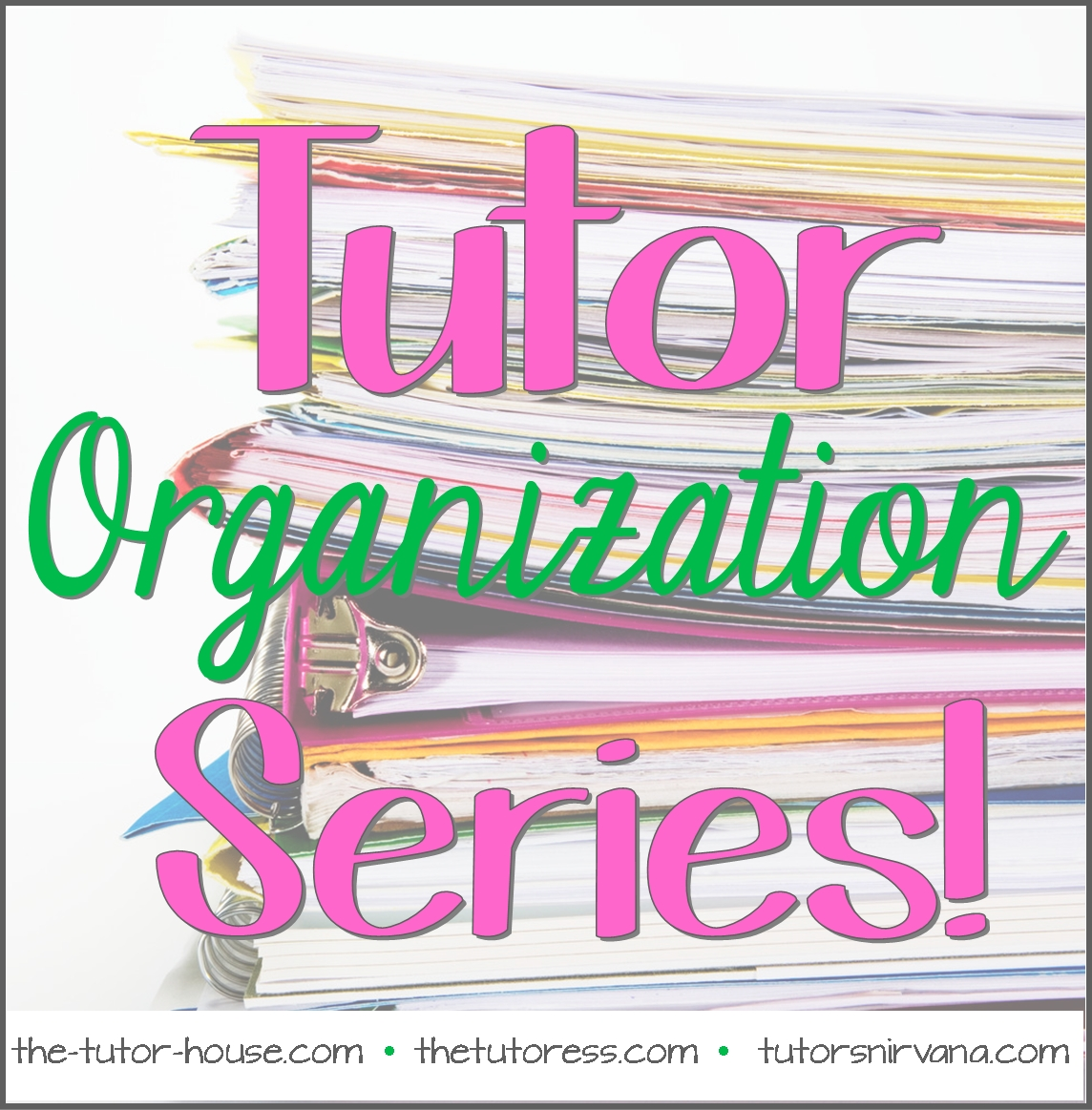 tutor organization series managing your finances tutoring invoice template