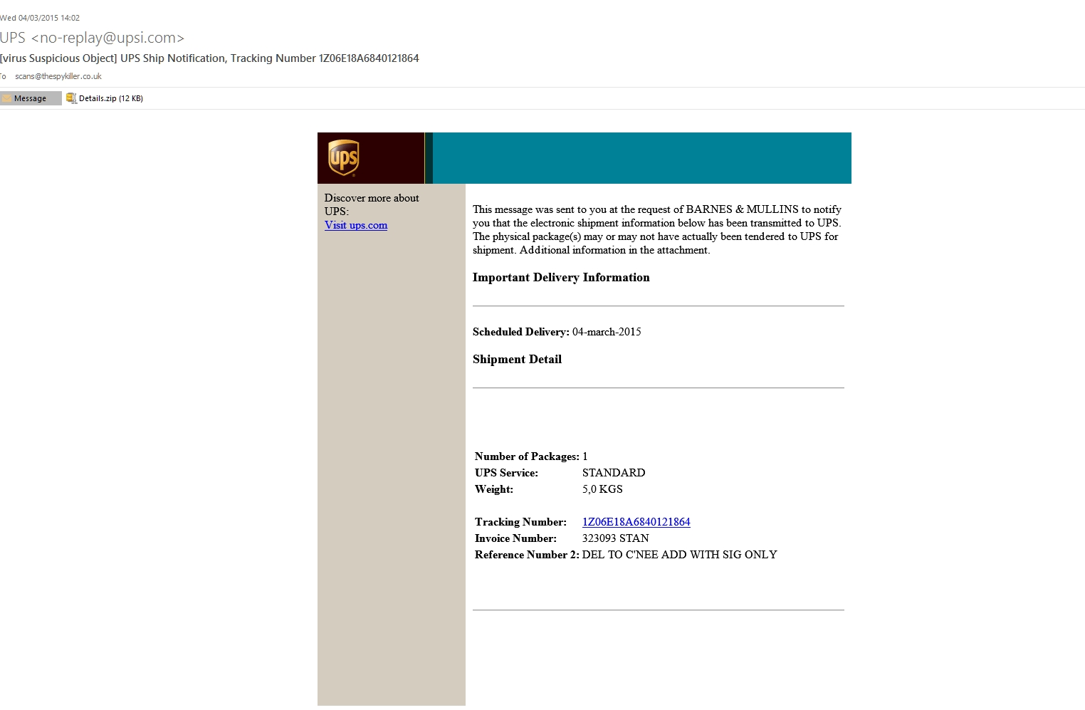ups invoice number tracking my online security ups ship notification tracking number 1524 X 997