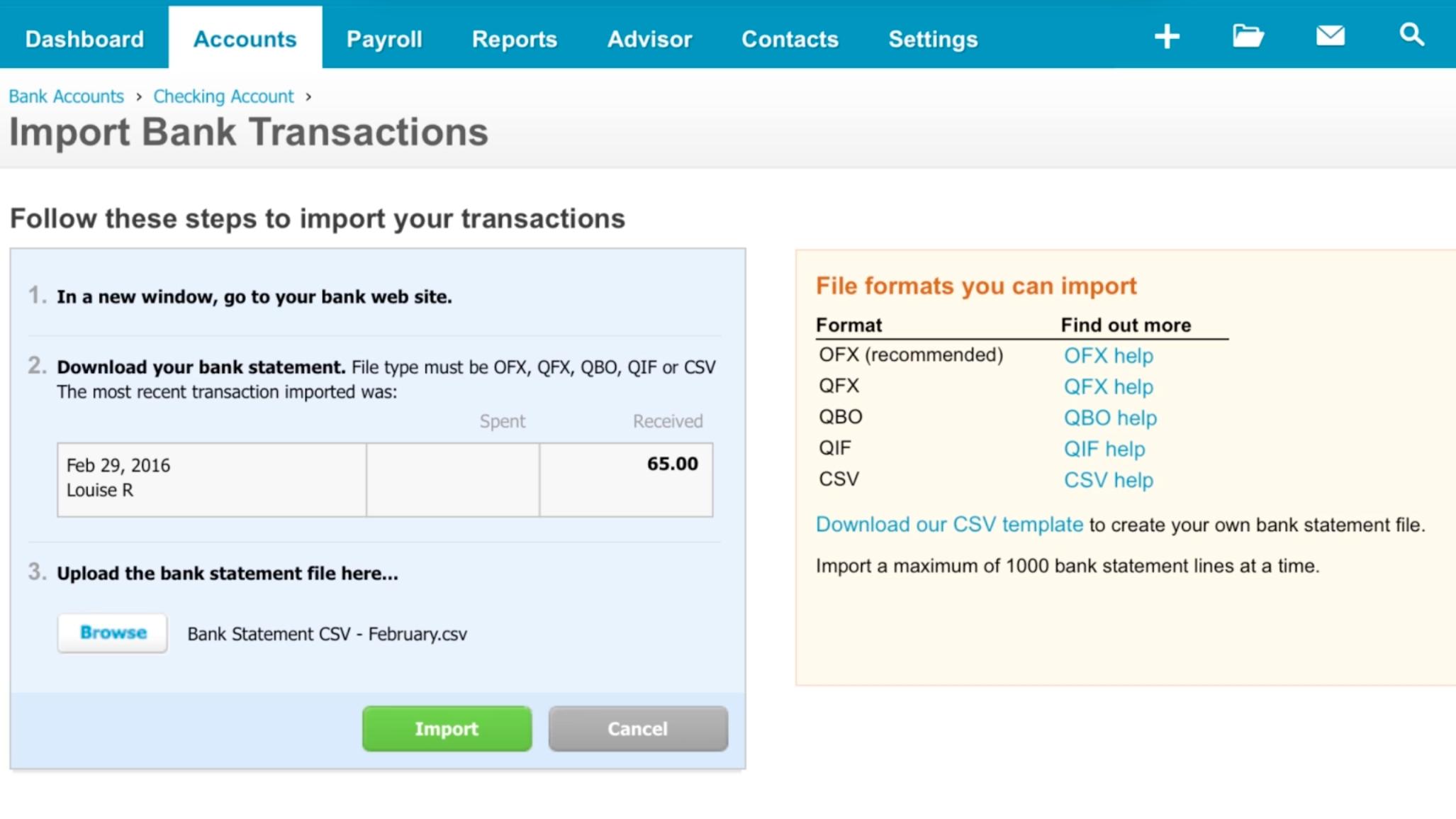 xero import invoices online invoicing in xero accounting software xero tv 2054 X 1155