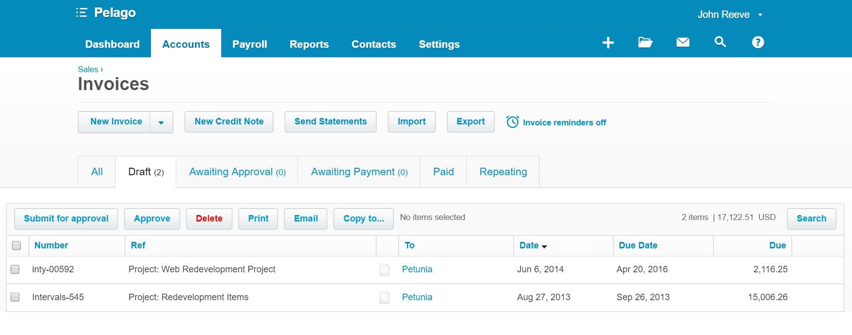 xero import invoices xero integration import invoices into xero intervals 1710 X 673