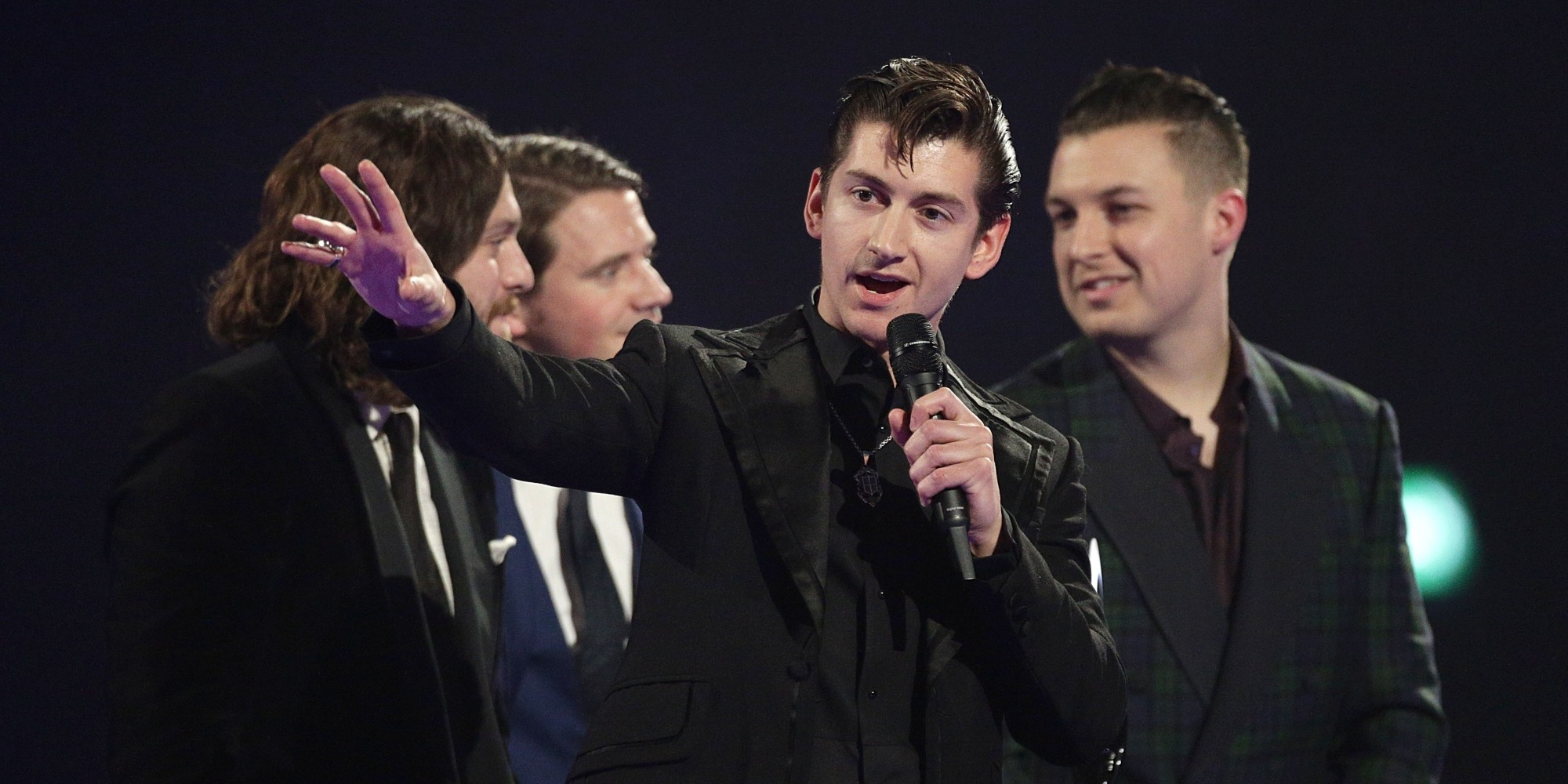 alex turner39s brit awards acceptance speech a translation invoice me for the microphone