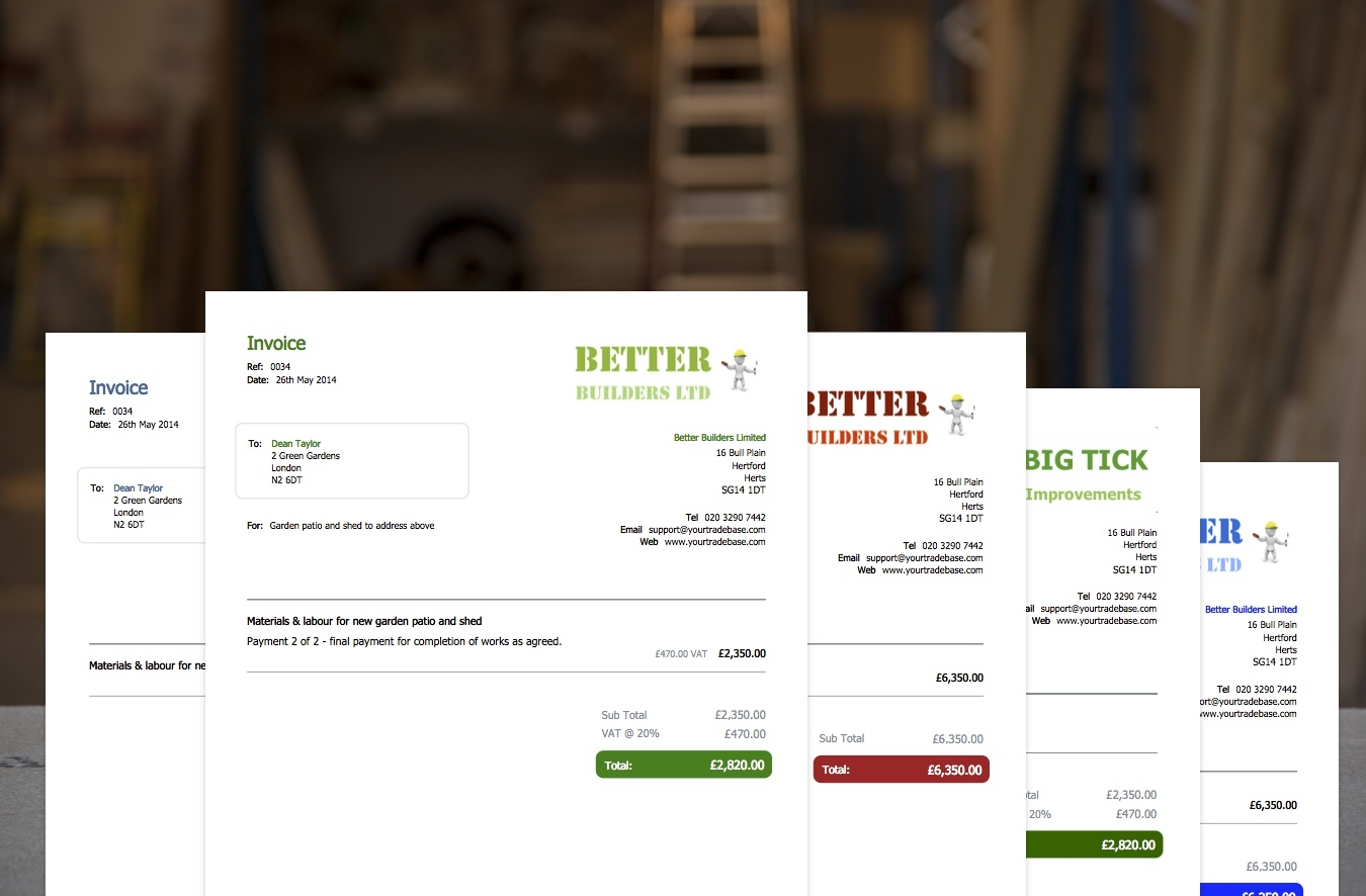 carpenter invoice template * invoice template ideas, Invoice examples