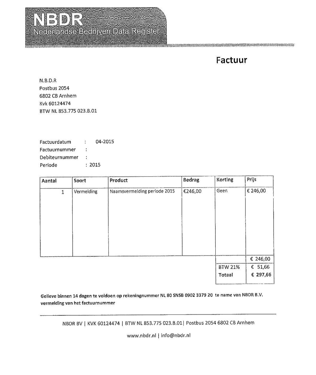 Make A Fake Invoice