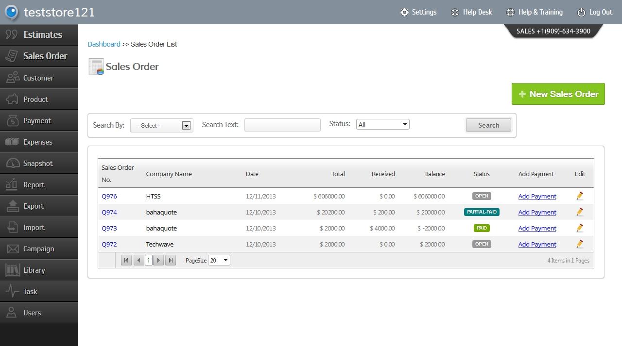 Generate Invoice Online