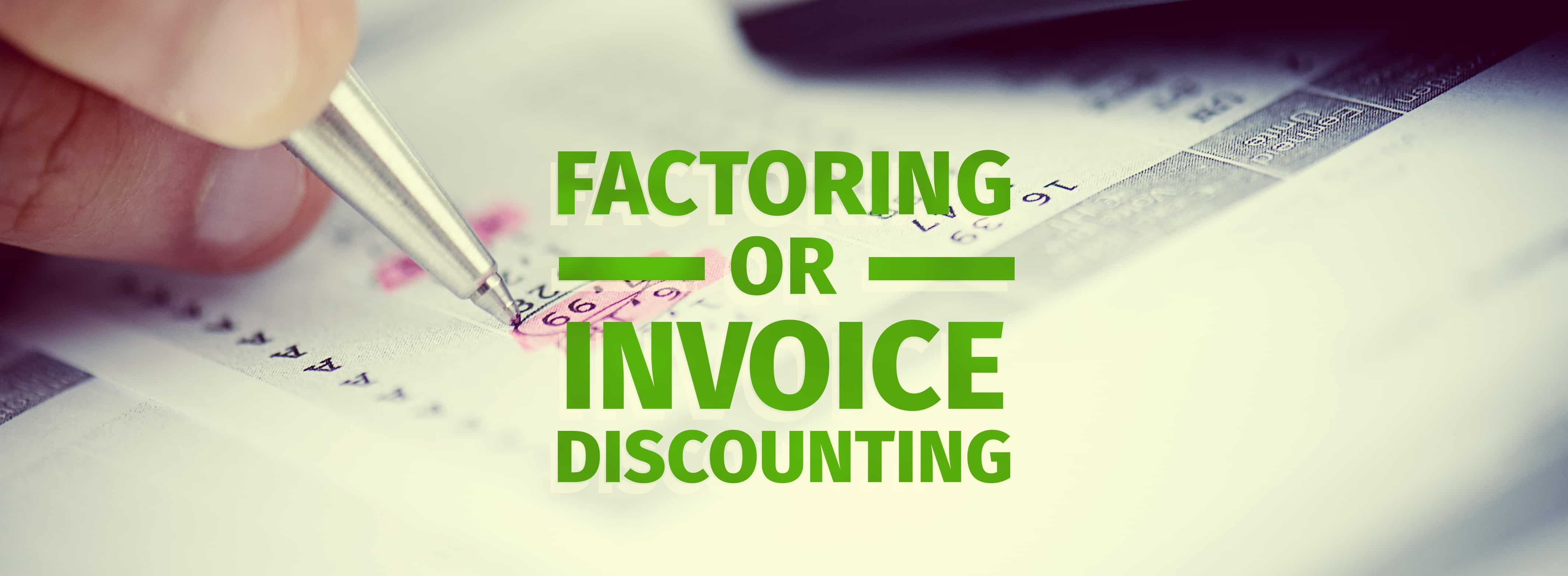 invoice discounting vs factoring factoring vs invoice discounting