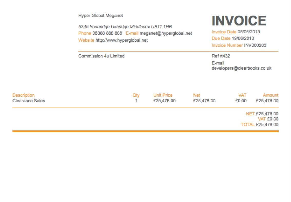 invoice generator invoice maker thats simple and online clear sending an invoice on paypal