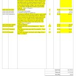 Invoice For Work Done
