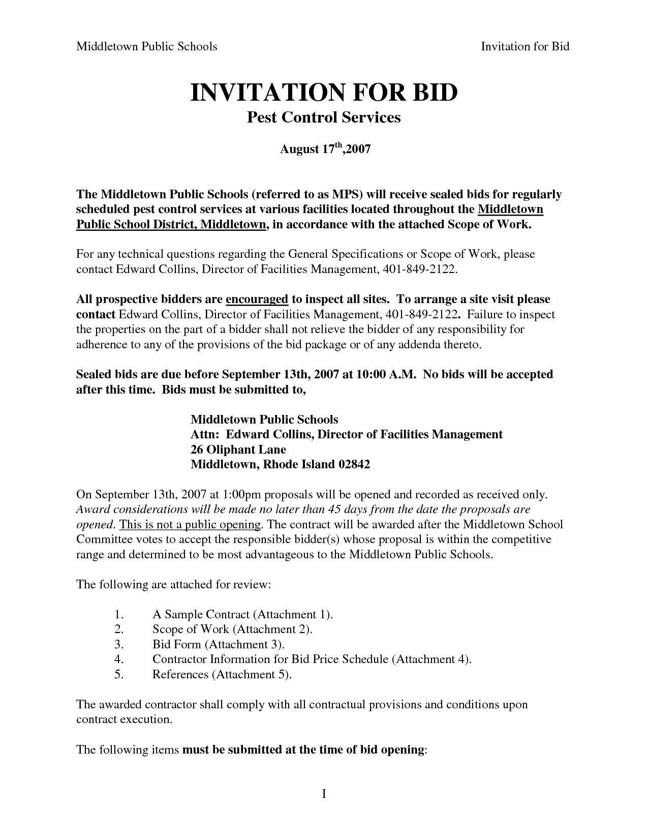 pest management plan template - pest control invoice invoice template ideas