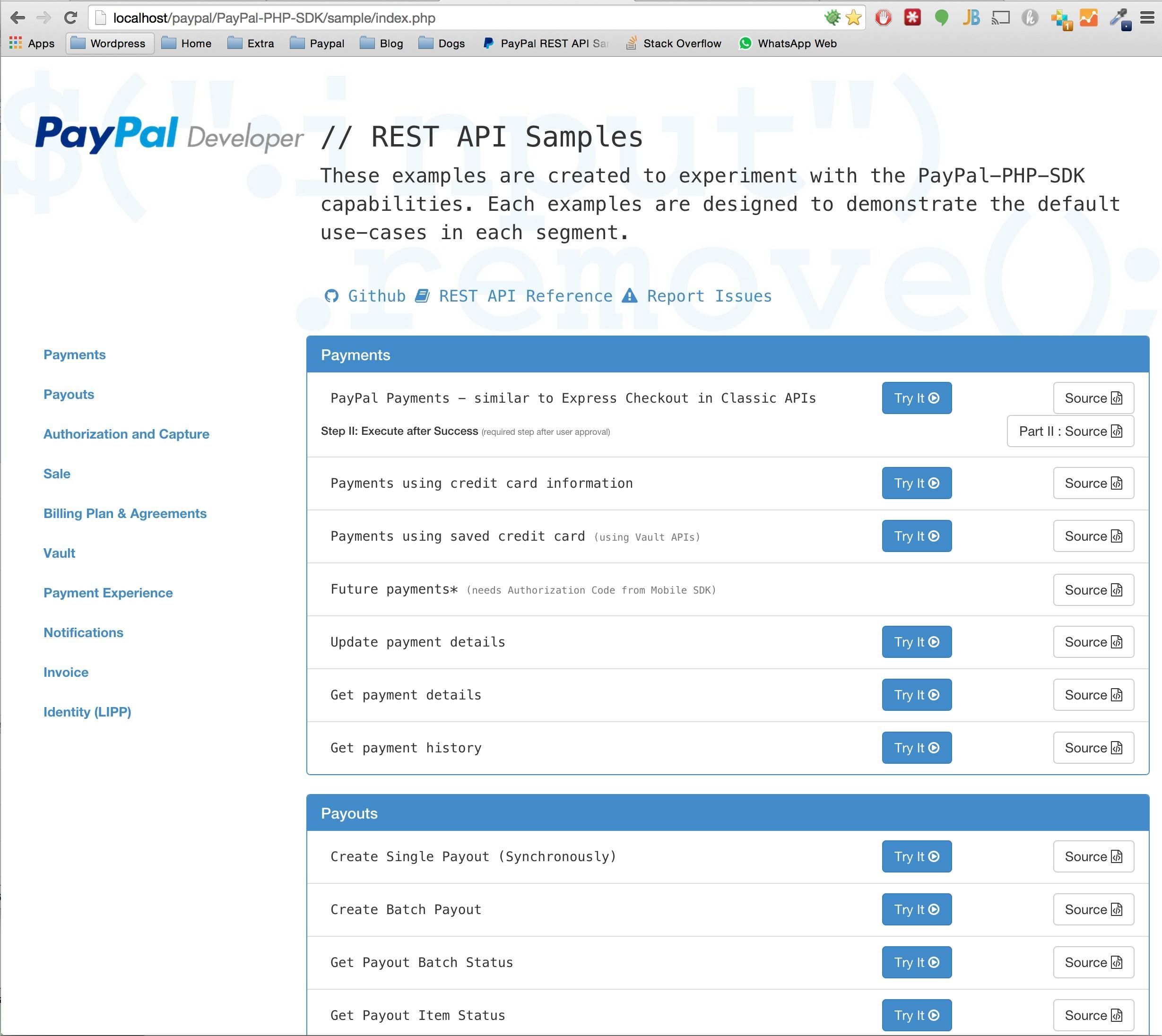 Paypal Invoice Api