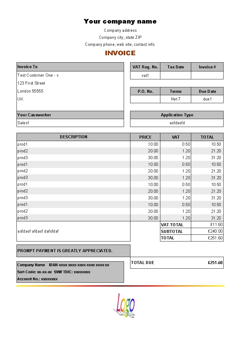 proforma invoice vat invoice template free 2016 pro forma invoices and vat