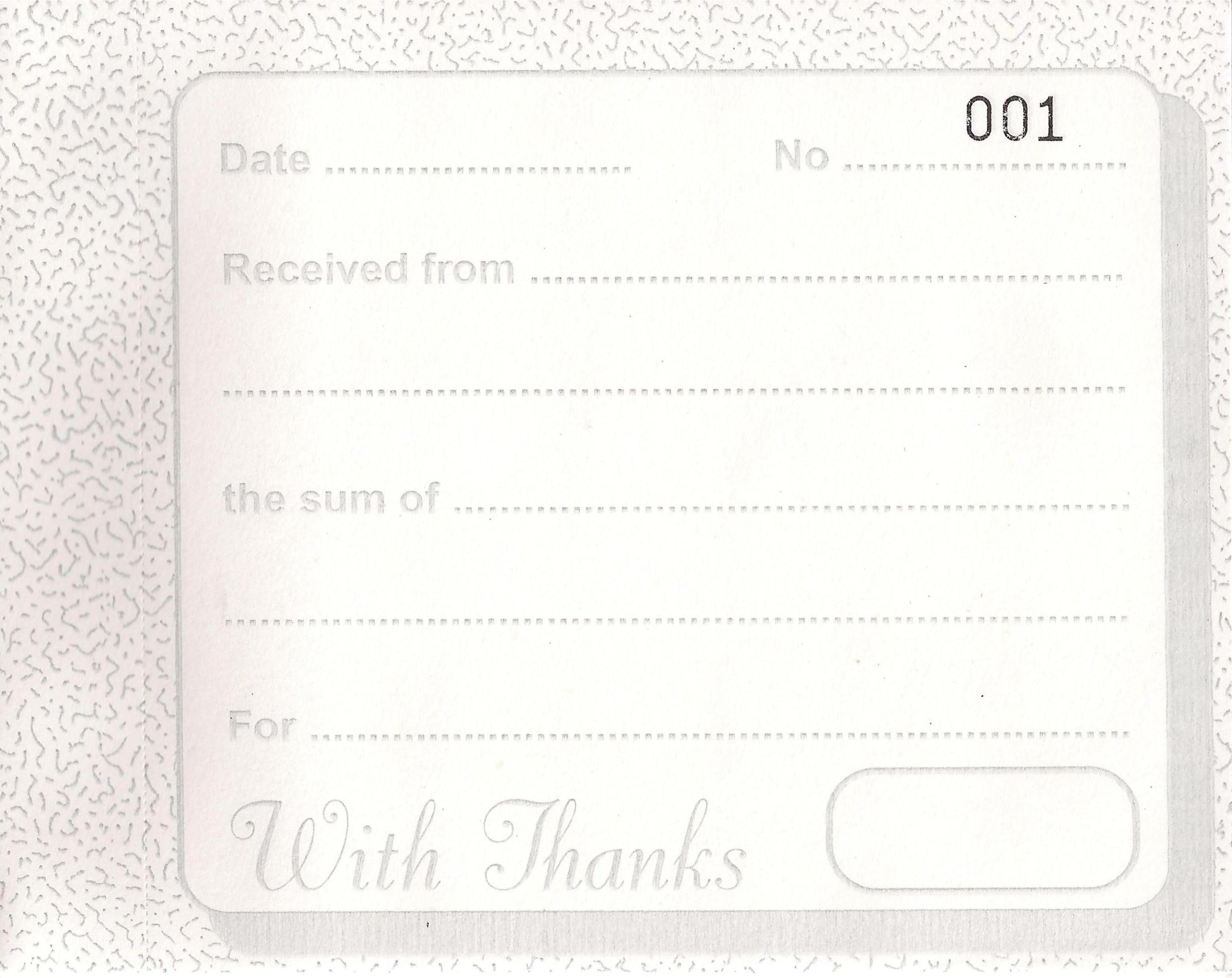 receipt book 80 duplicate receipts the childminding shop duplicate invoice book
