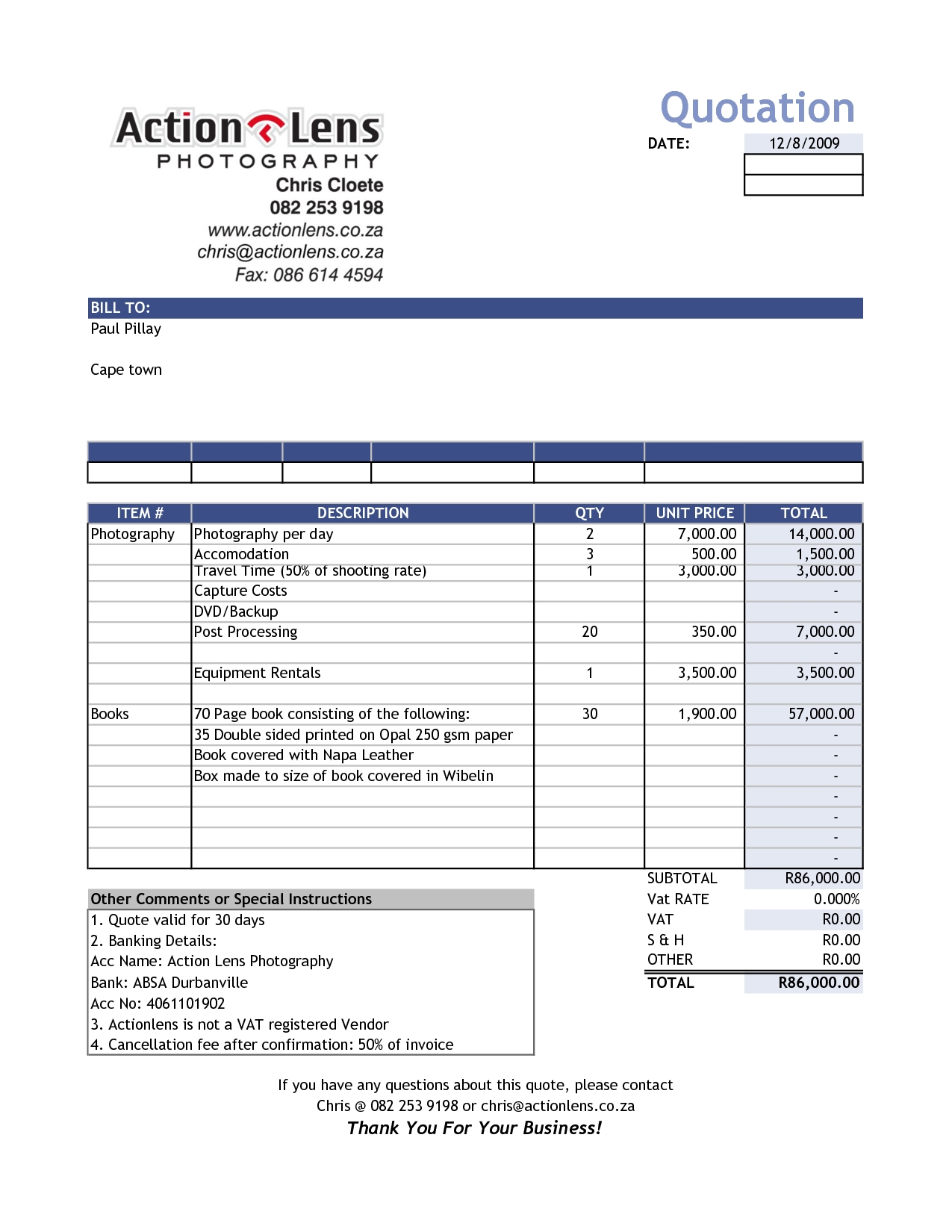 Format Of Sales Invoice
