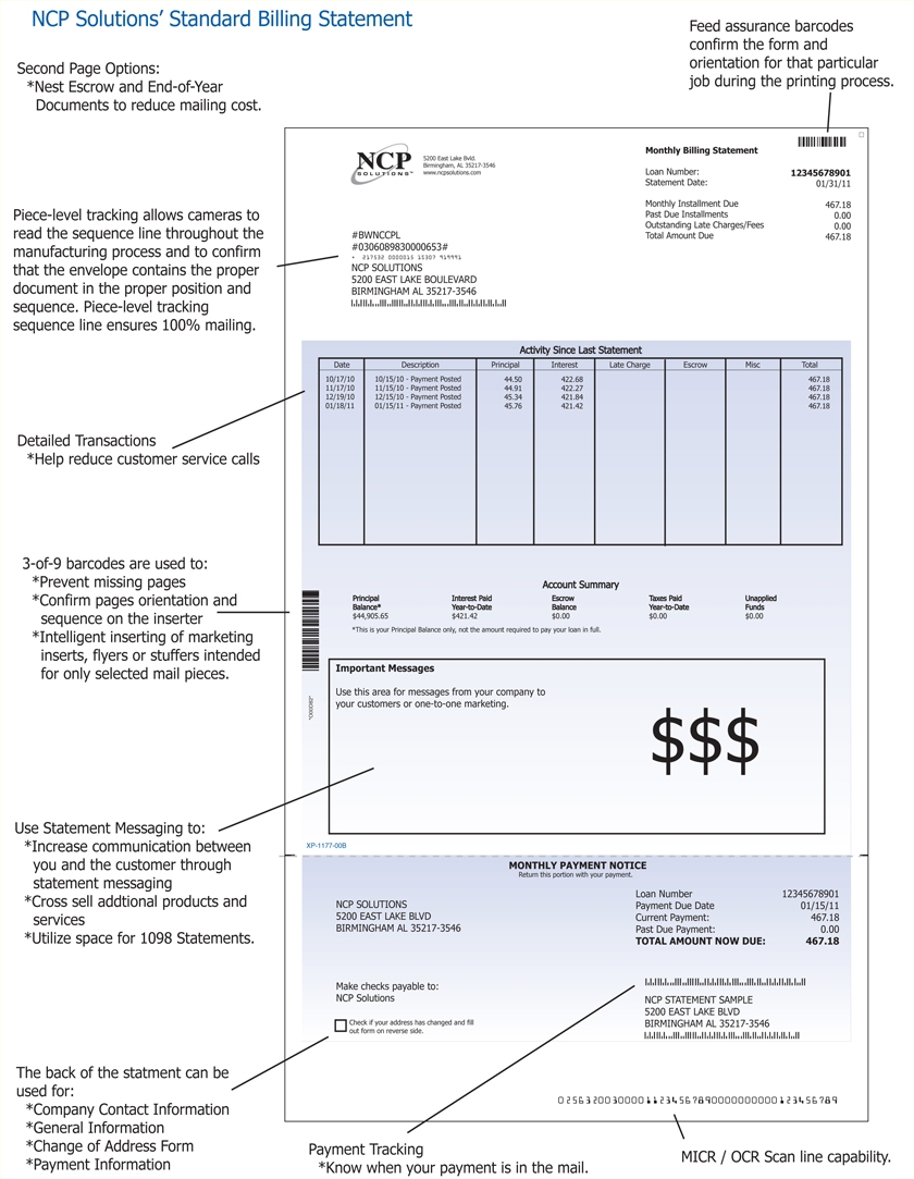 statement of invoice test statement amp invoices 840 X 1083