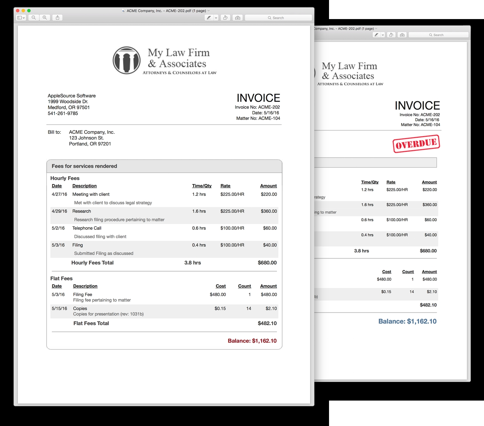 charging interest on overdue invoices   invoice template ideas