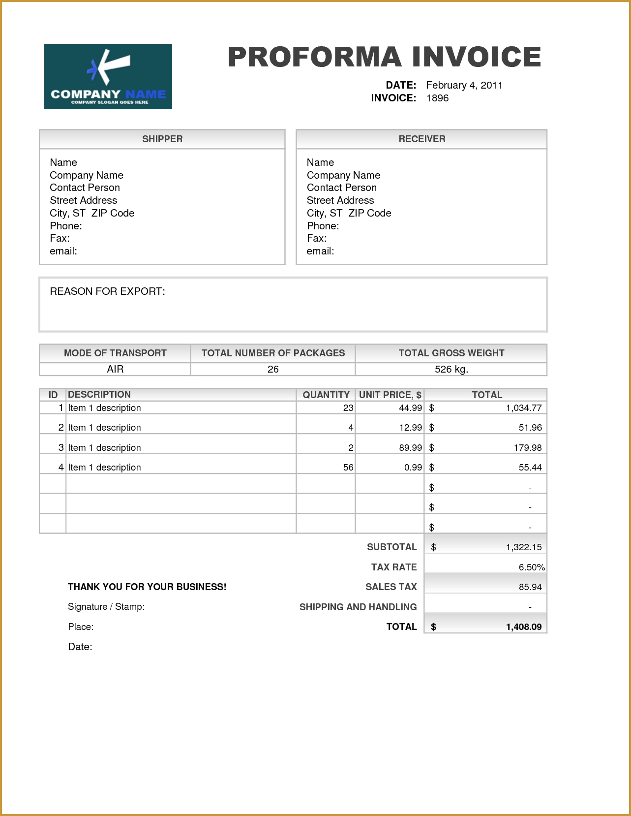proforma invoice excel template invoice template ideas 13 samples and the importance of proforma invoice template excel proforma invoice excel template