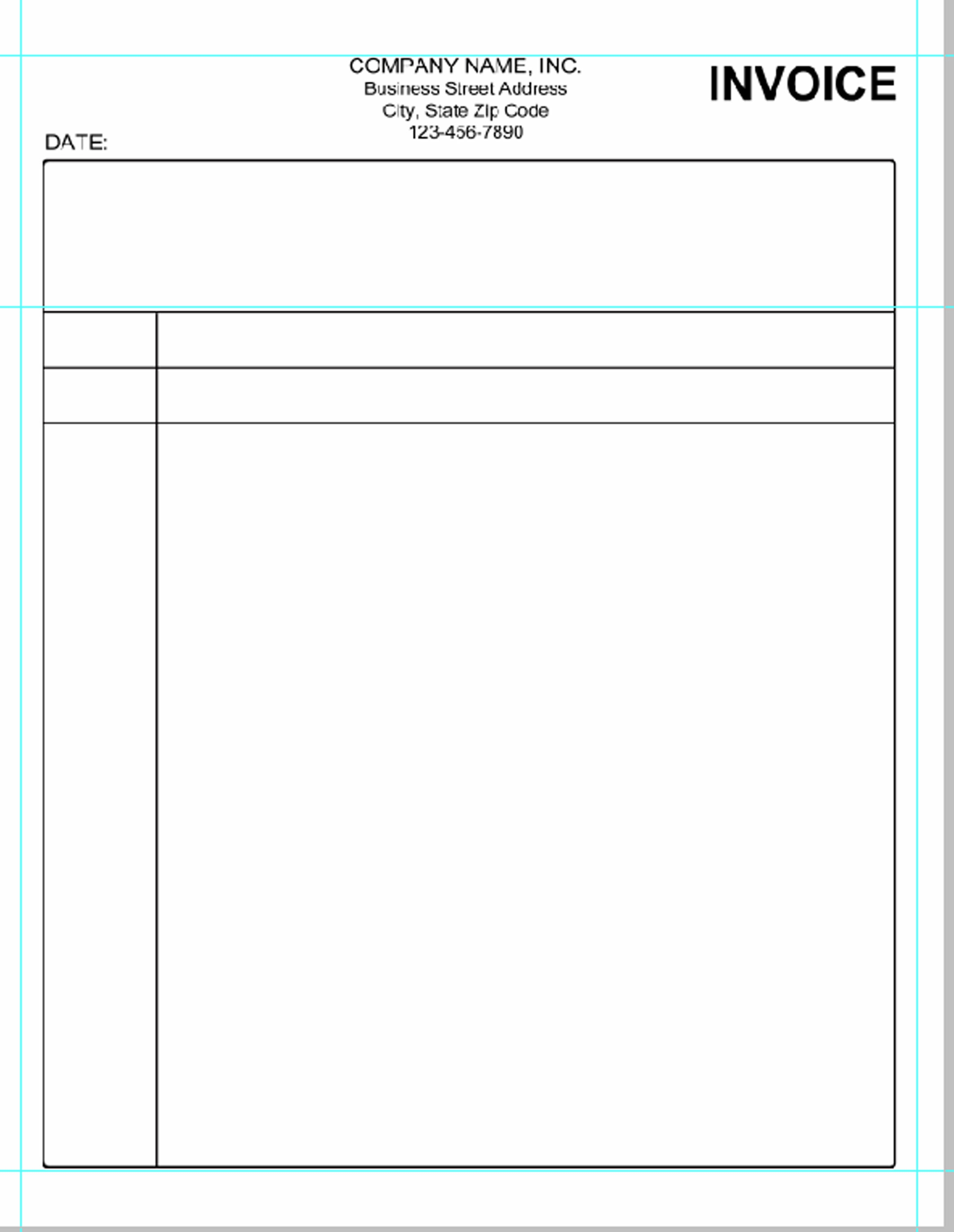 blank invoice template free to print blank invoice form to print blank invoice form pdf