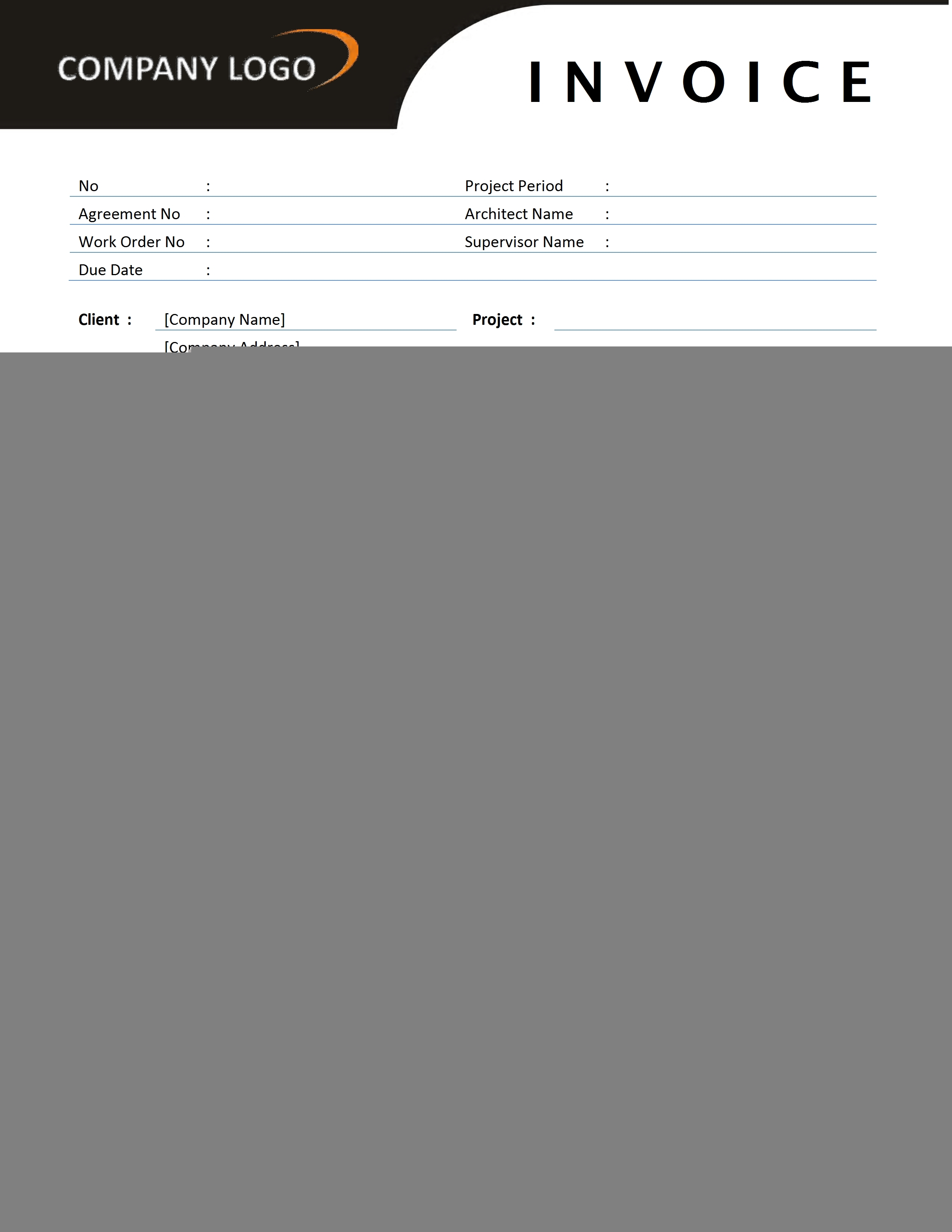 contractor invoice template free microsoft word templates example contractor invoice