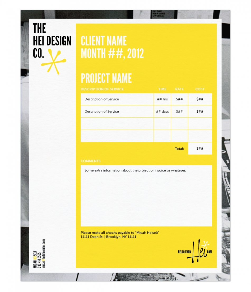 graphic design invoice template graphic design invoice ideas