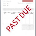 Overdue Invoice Template