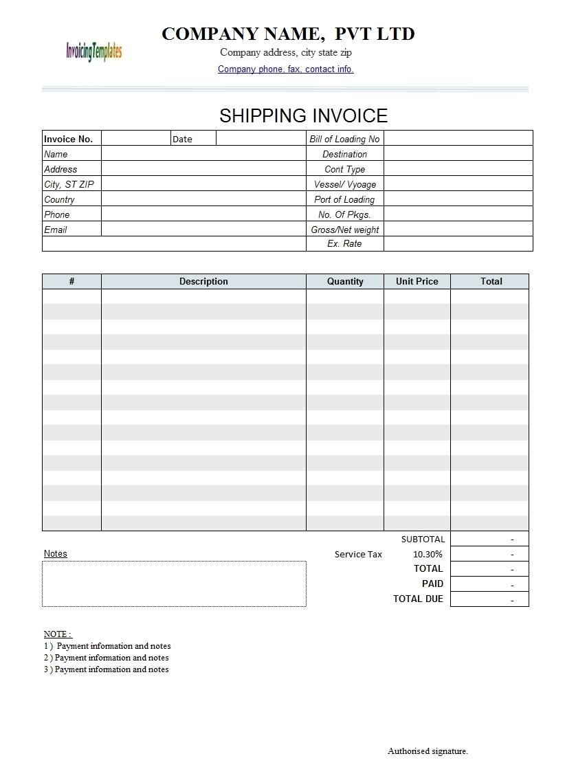 invoice template google invoice template ideas