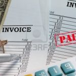 Paying An Invoice