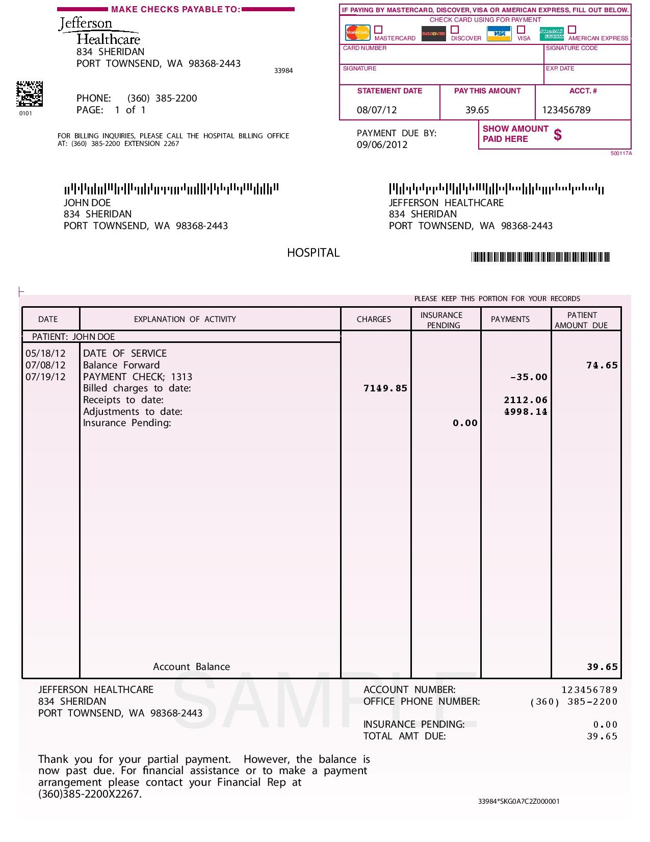 Sample Invoices With Payment Terms