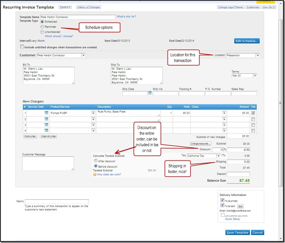 invoice template quickbooks online free printable invoice quickbooks invoice templates free