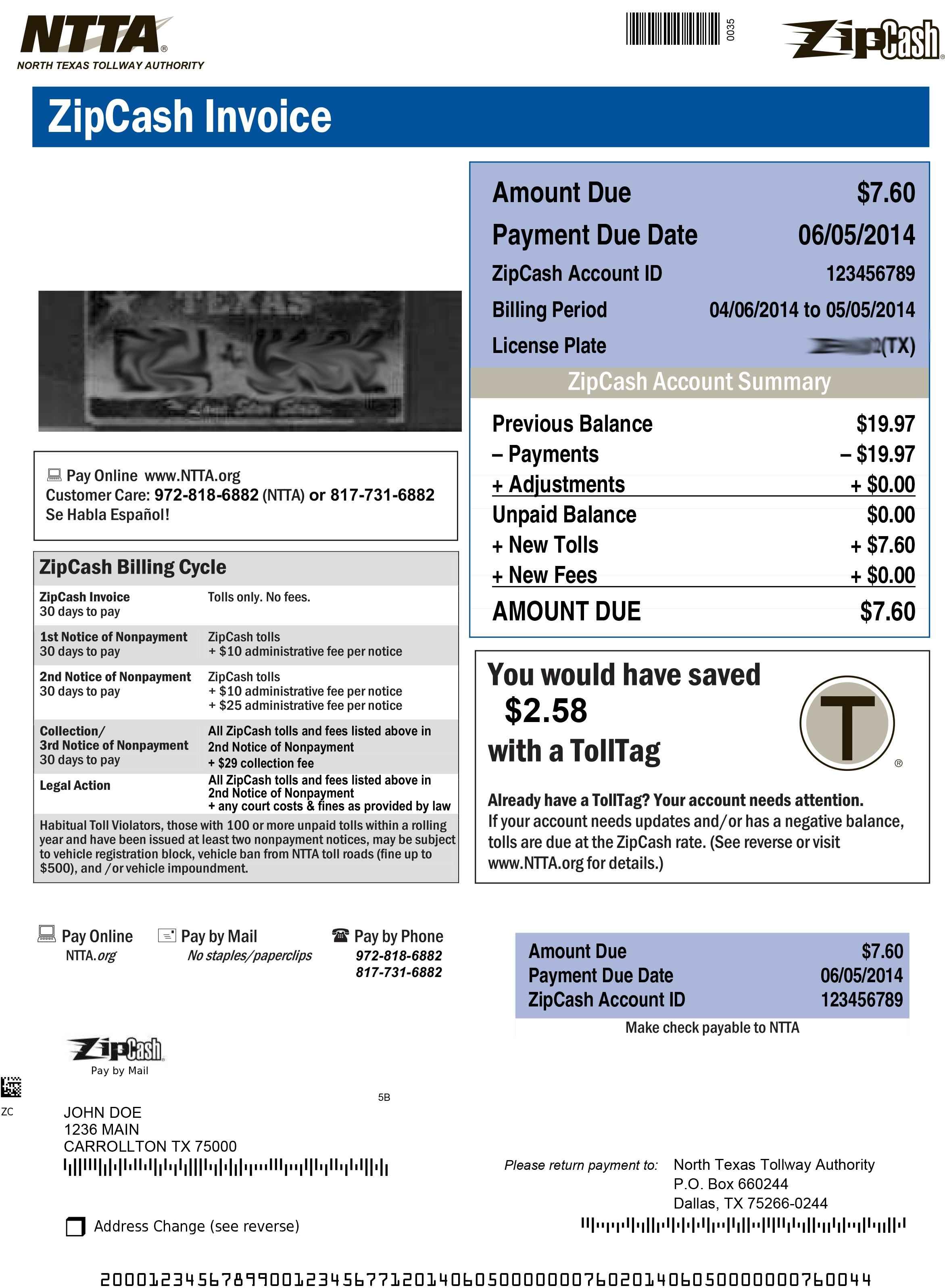 pay zipcash invoice   invoice template ideas
