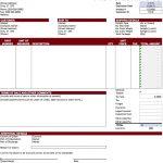 Proforma Invoice Sample Excel