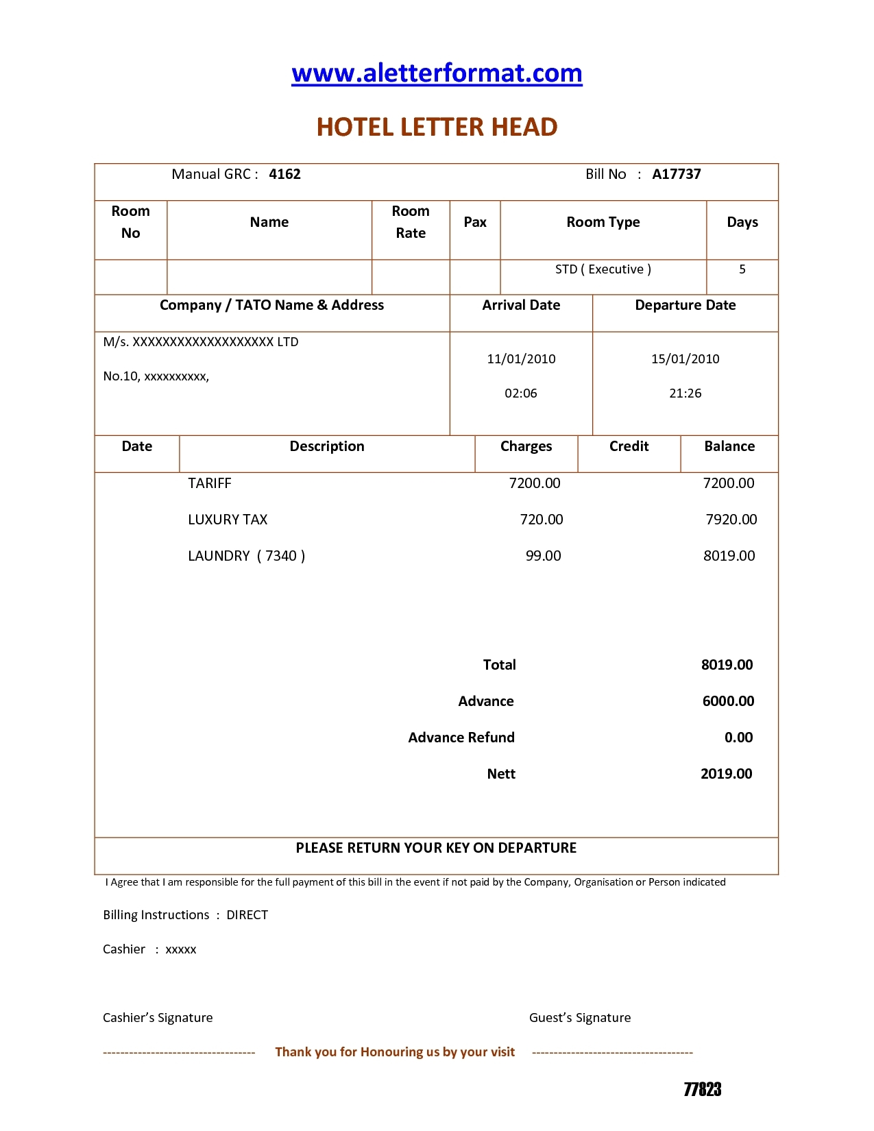 sample hotel invoice invoice template free 2016 hotel invoice format