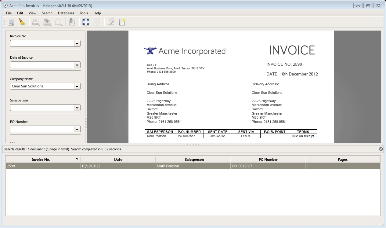 a solution for better handling of invoices invoice scanning service