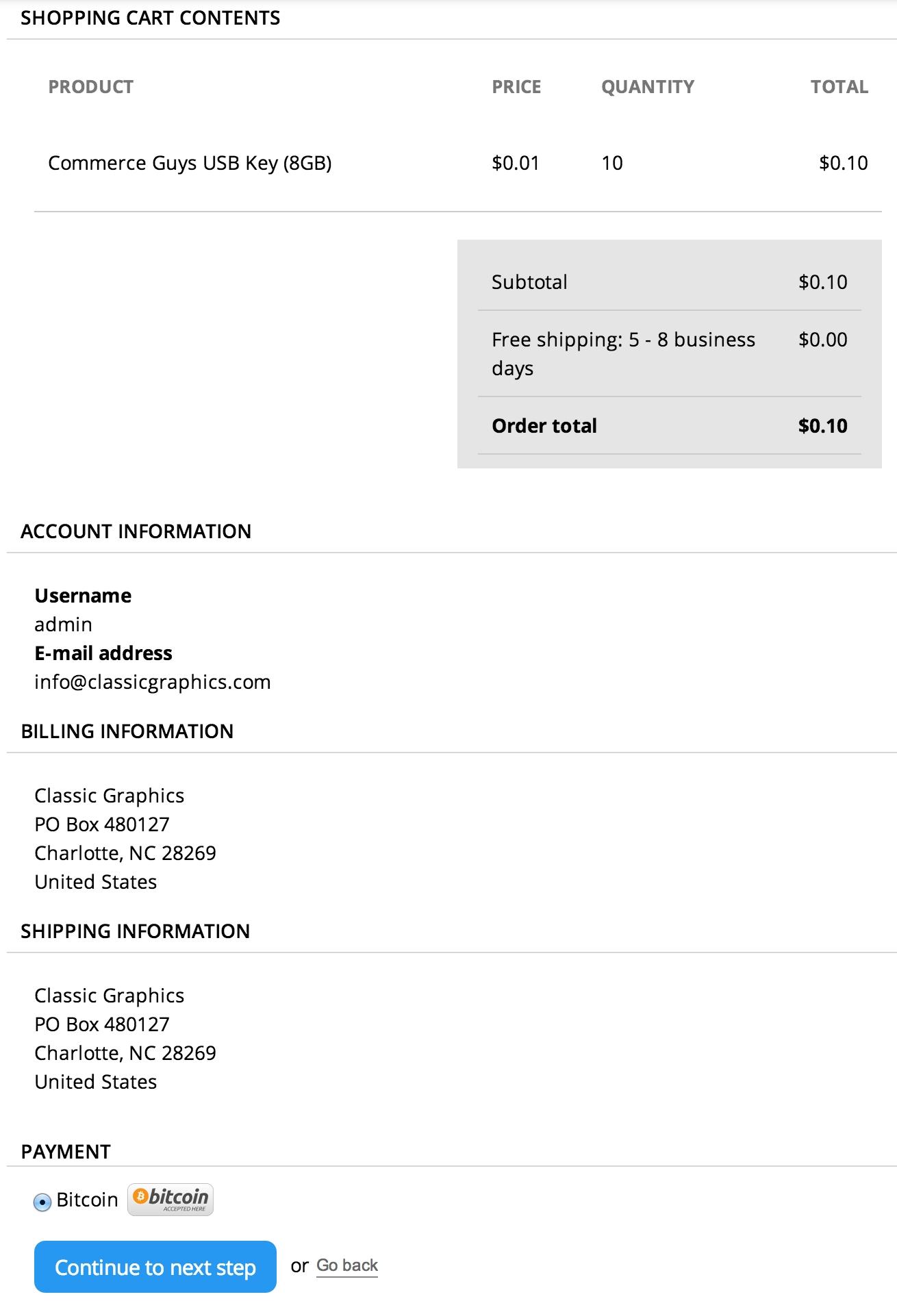 commerce bitpay drupal drupal commerce invoice