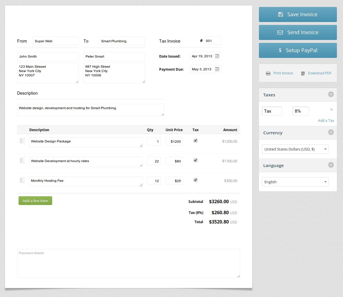 create invoice free create invoice online free accounting tool create invoice free online