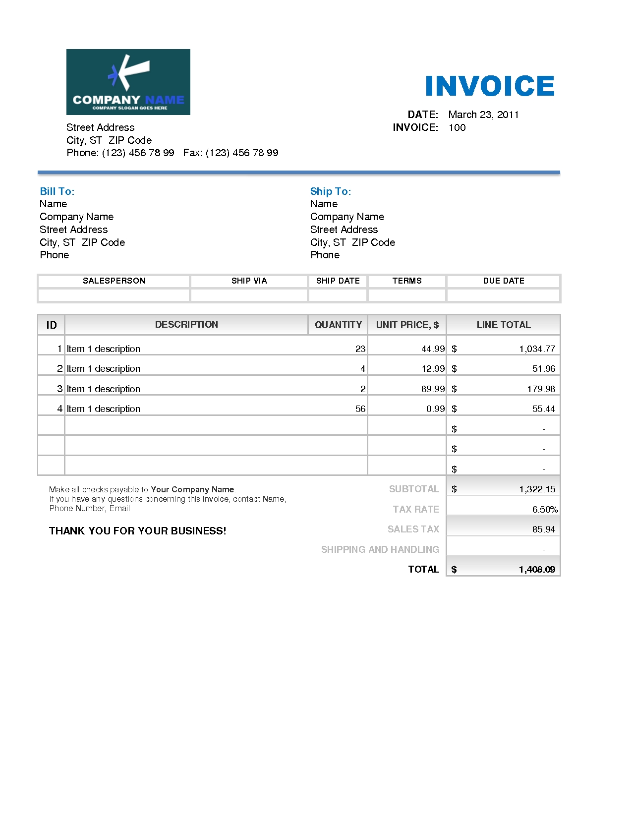 customer invoice template excel freeinvoice template credit memo form template free excel 1275 X 1650